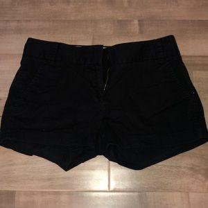 Black JCrew chino shorts!